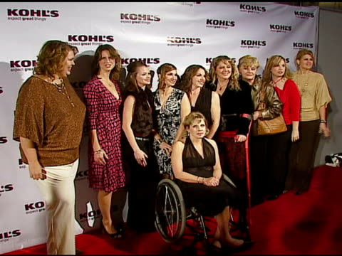 transformation nation contest finalists at the kohl's and conde nast media group present the kohl's transformation nation fall fashion show at santa... - conde nast media group stock videos & royalty-free footage