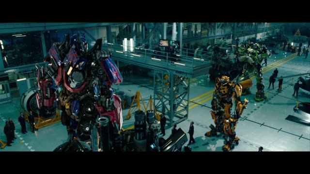 'transformers 3 dark of the moon' london special screening at bfi imax on june 26 2011 in london england - transformer stock videos & royalty-free footage