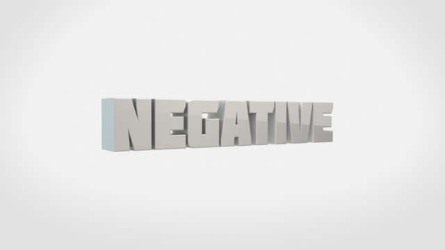 transforming 3d words animation - negative to positive (with luma/alpha) - western script stock videos & royalty-free footage