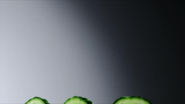 Translucent Cucumber Slices