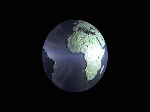 translucent spinning globe - mpeg video format stock videos & royalty-free footage