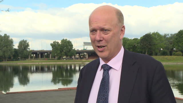 transport secretary chris grayling explaining the need for compulsory motorway lessons for learner drivers starting from 2018 - learning to drive stock videos & royalty-free footage