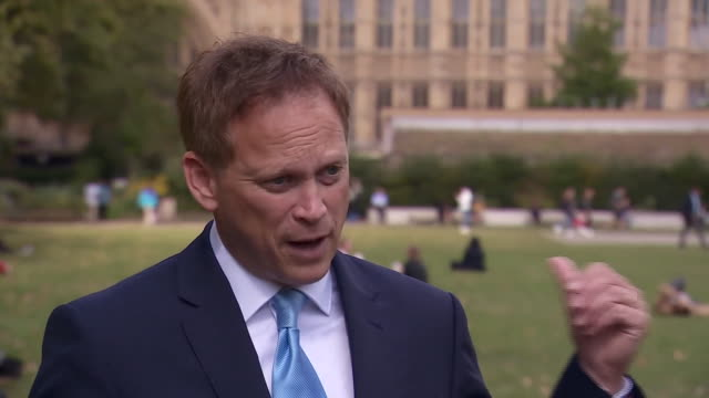transport secretary grant shapps saying he requested a report into hs2 to see if the costs match the benefits because he wants all the information... - looking stock videos & royalty-free footage
