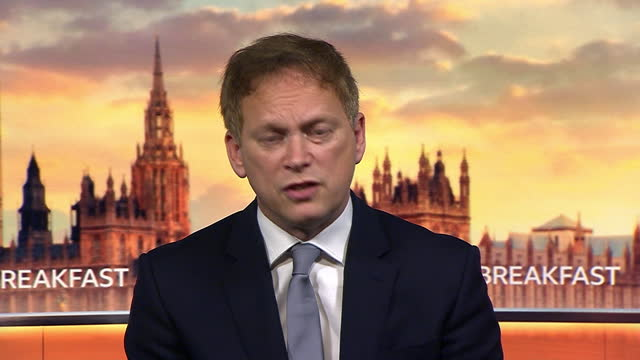 transport secretary grant shapps saying the government are assessing data to work out which coronavirus tiers to apply to which regions once national... - applying stock videos & royalty-free footage