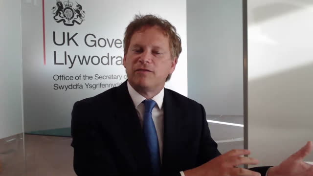 transport secretary grant shapps saying the government are looking at whether coronavirus quarantine laws can be loosened in regards to islands abroad - secretary stock videos & royalty-free footage