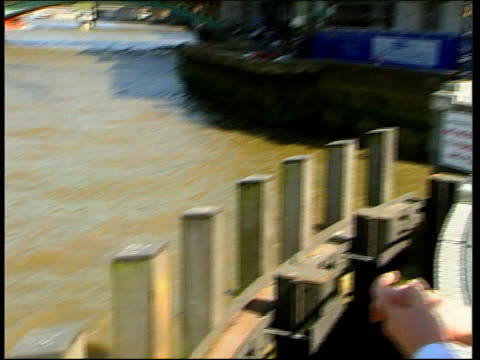 southall rail crash charges dropped itn england london iain philpott who was on board the pleasure boat 'marchioness' when it sunk along by river... - marchioness stock videos and b-roll footage