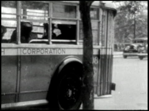 vídeos de stock e filmes b-roll de transportation (bus, truck, taxi) - 2 of 10 - 1946