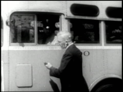 vídeos de stock e filmes b-roll de transportation (bus, truck, taxi) - 4 of 10 - 1946