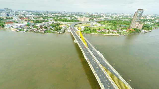 Transport-Brücke mit Ausblick