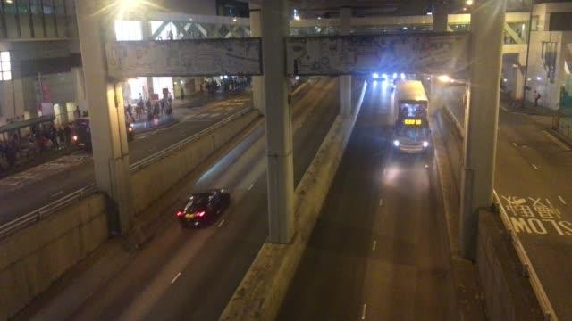 Transportation Under Flyovers Elevated Road, Hong Kong Kwun Tong