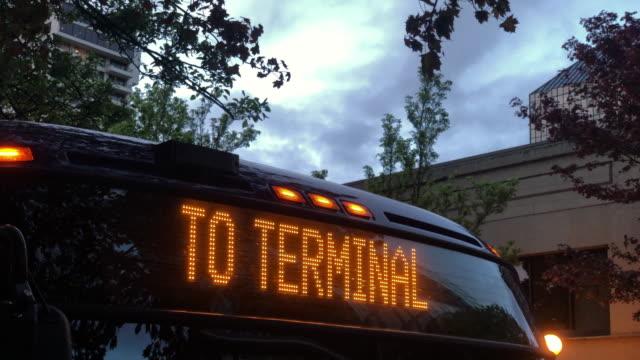 transportation - bus stock videos & royalty-free footage