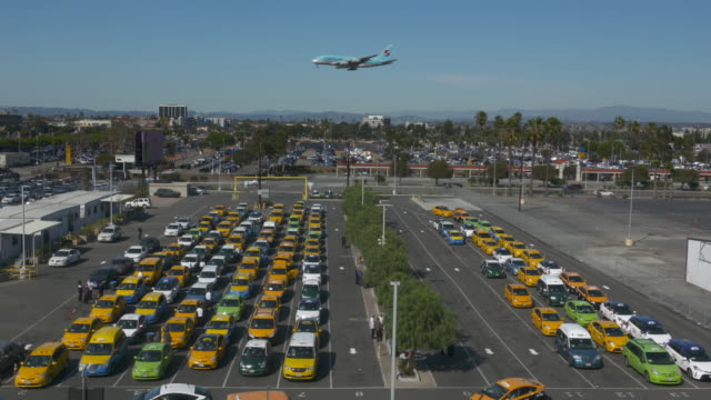 transportation - taxi stand stock videos and b-roll footage