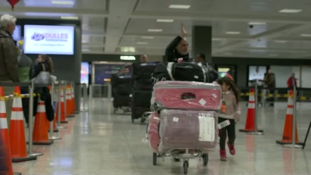 travel ban suspension upheld by us federal appeals court travel ban suspension upheld by us federal appeals court usa washington washington dulles... - dulles international airport stock videos and b-roll footage