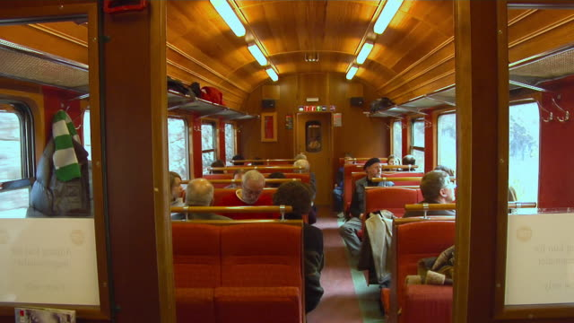 stockvideo's en b-roll-footage met travel by train of the flåm railway - kees van den burg