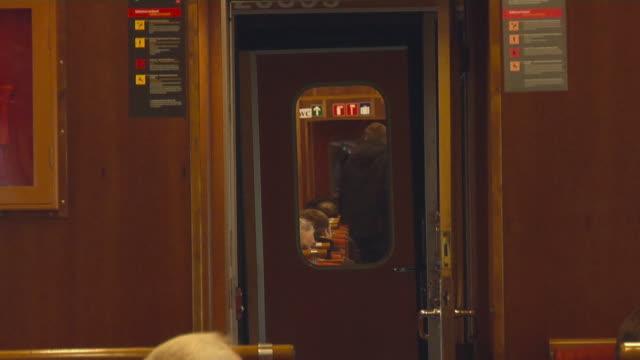 stockvideo's en b-roll-footage met travel by train of the flåm railway - kees van den burg