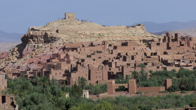 Travel Cinemagraphs - Ait Ben Haddou, Morocco