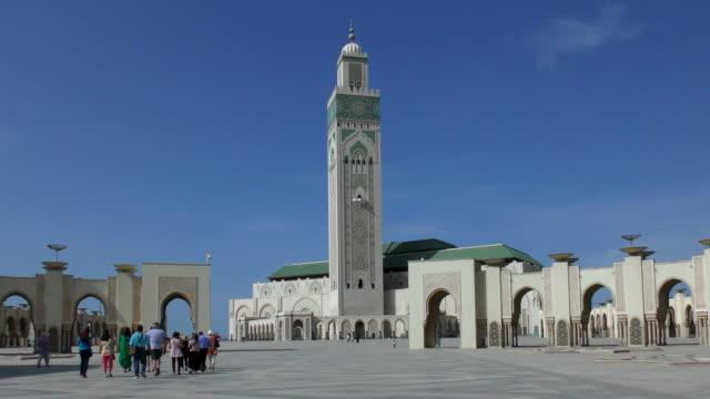 vidéos et rushes de voyage gallery - casablanca, maroc - monument