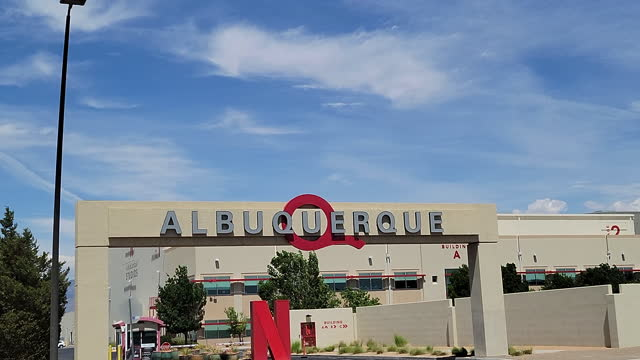 travel destinations - netflix and albuquerque studios - film leader stock videos & royalty-free footage