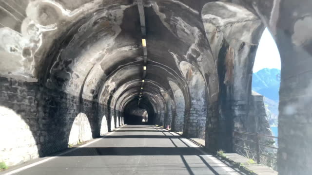 travel in a tunnel with sunlight - narrow stock videos & royalty-free footage