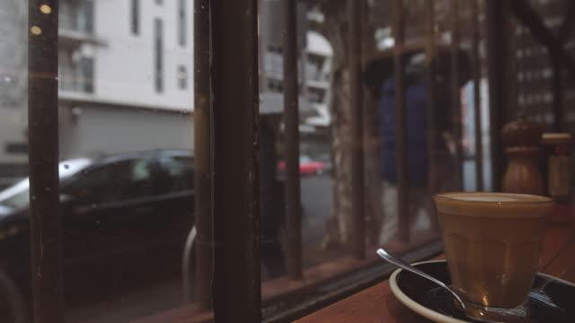 Travel Like a Local - Brief - Enjoying a piccolo in a winter day, Melbourne, Victoria