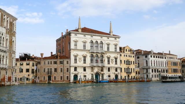 4K Reisen am Canal grande in Venedig, Italien