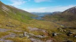 travel on the Senja island,Barden,Norway