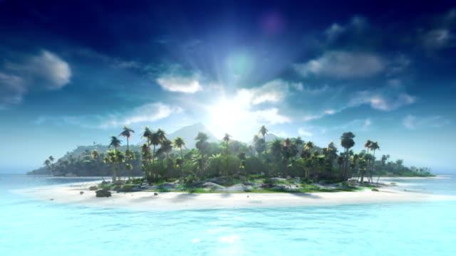 vídeos de stock e filmes b-roll de viajar até à ilha tropical - ilha