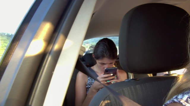 traveling by car - passenger stock videos & royalty-free footage