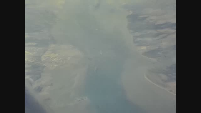 traveling by plane seen from the window in 70's - aircraft point of view stock videos & royalty-free footage