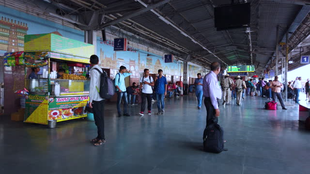 traveling by train in india, south asia - produced segment stock videos & royalty-free footage