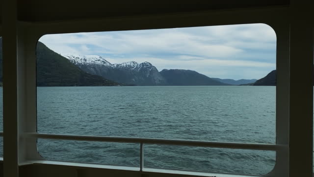 traveling freedom: trip over a ferry boat - ferry stock videos & royalty-free footage