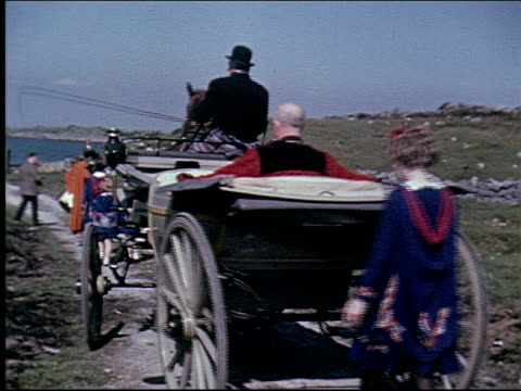 1962 traveling in ireland - mayor stock videos & royalty-free footage