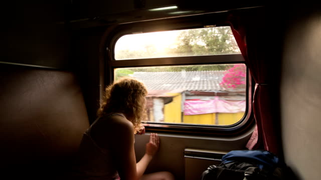 traveling in train - journey stock videos & royalty-free footage
