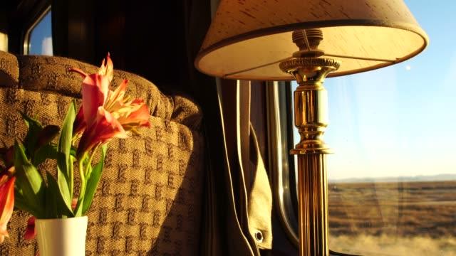 traveling on a luxury train - machu picchu stock videos & royalty-free footage