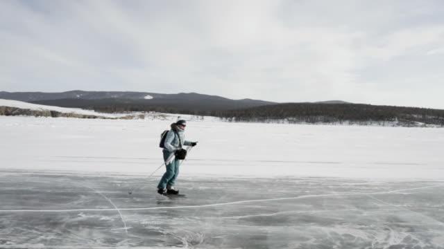 Traveling on skates