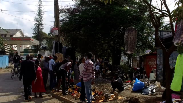 traveling shot in the city/ nairobi/ kenya - nairobi stock videos and b-roll footage