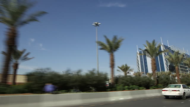 traveling shot on a road in riyadh. - riyadh stock videos & royalty-free footage