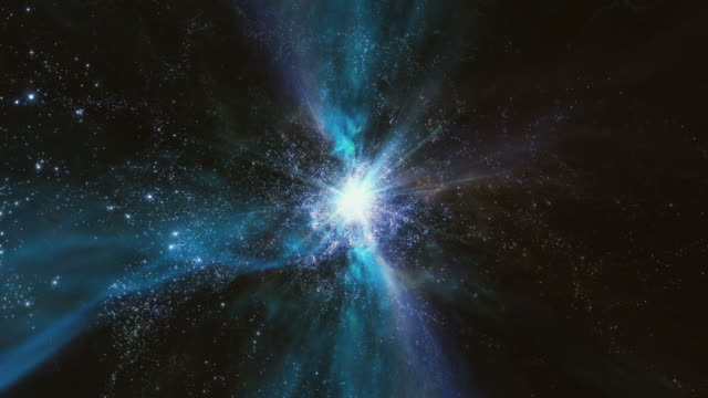 traveling through a wormhole in space - nebula stock videos & royalty-free footage