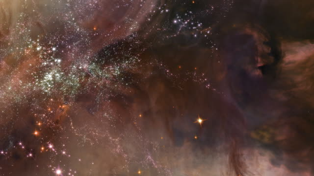 traveling through star fields in space - nebula stock videos & royalty-free footage