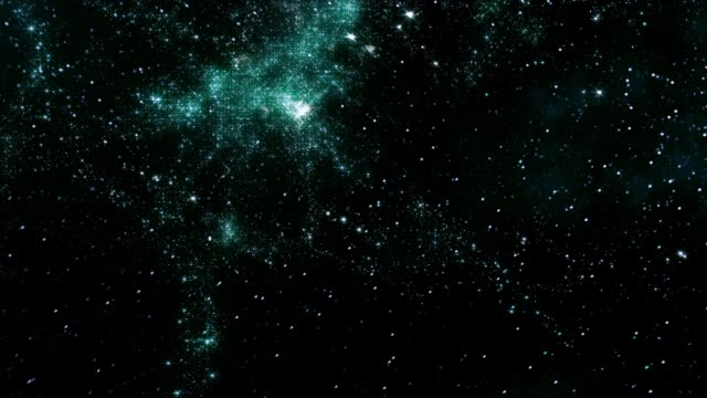 traveling through star fields in space - constellation stock videos & royalty-free footage