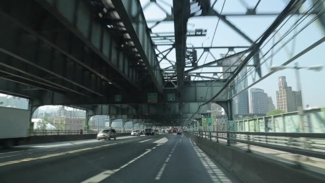 travelling ed koch queensboro bridge, new york city, new york, usa, north america - queensboro bridge stock videos & royalty-free footage