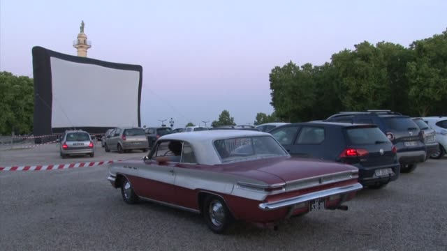FRA: Drive-in festival lures French cinemagoers in Bordeaux