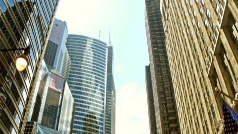 travelling in chicago - tracking shot stock videos & royalty-free footage
