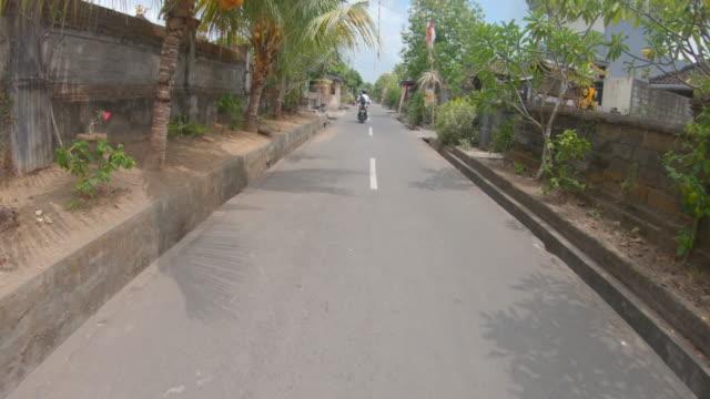 travelling through ubud - bali stock videos & royalty-free footage