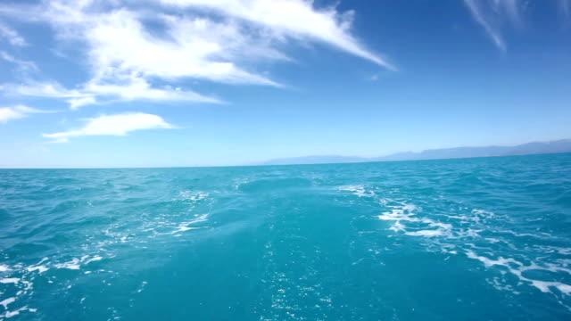 vidéos et rushes de voyages - vue subjective de bateau