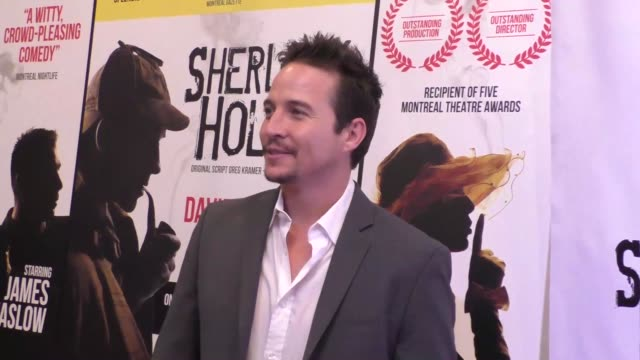 travis aaron wade at the opening night of sir arthur conan doyle's sherlock holmes at the montalban theatre in hollywood - celebrity sightings on... - arthur conan doyle stock videos & royalty-free footage