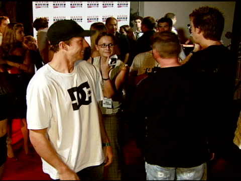Travis Pastrana at the Maxim Magazine's ICU Event at Area in Los Angeles California on August 2 2007