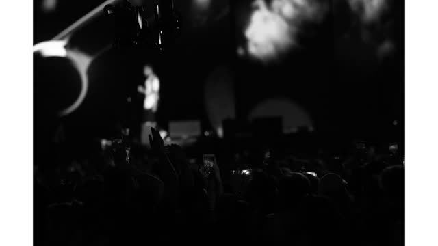 travis scott at the made in america festival at benjamin franklin parkway on august 31 2019 in philadelphia pennsylvania - benjamin franklin parkway stock-videos und b-roll-filmmaterial