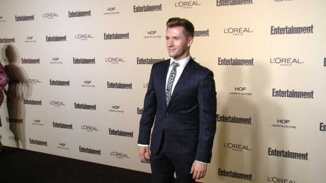 travis wall at entertainment weekly's preemmy celebration at fig olive melrose place on september 18 2015 in west hollywood california - entertainment weekly stock videos and b-roll footage
