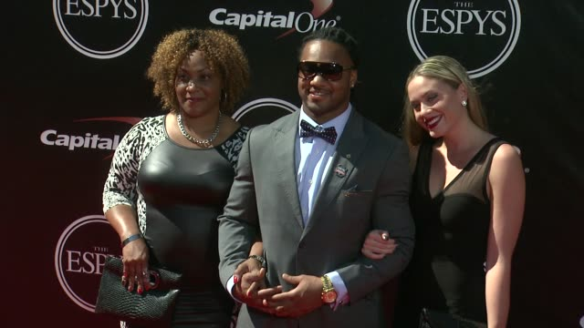 tre mason at the 2014 espy awards in los angeles ca - espy awards stock videos & royalty-free footage